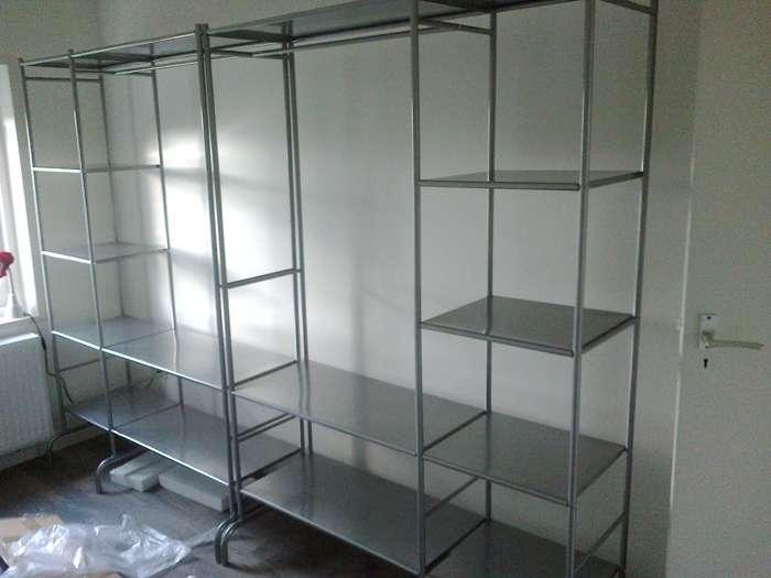 Luudo design furniture basic view roomdivider en open kasten