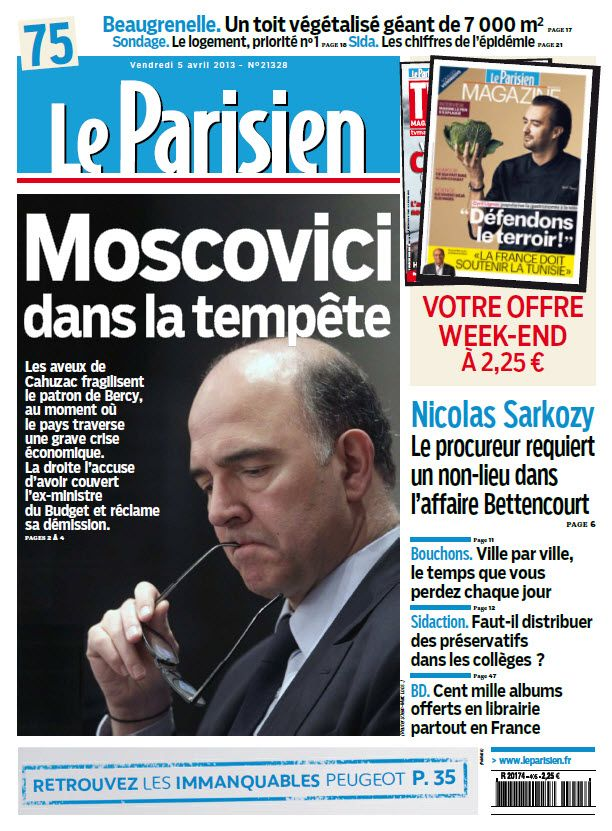 Le Parisien Vendredi 05 Avril 2013